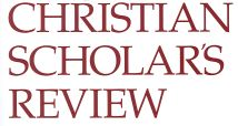 Christian_scholars_review
